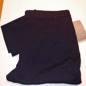 Maurices Smart Pants ankle navy 18 reg NWT